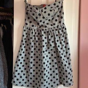 2/$20 Brand New Polka Dot H&M strapless dress